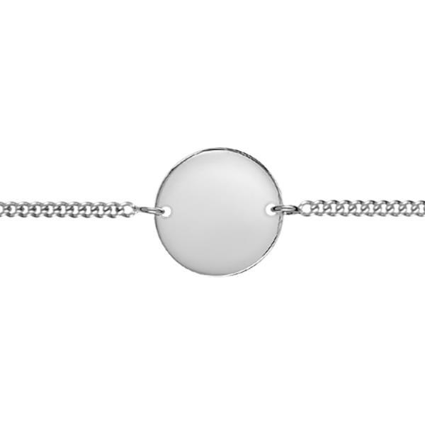 bracelet argent gravure