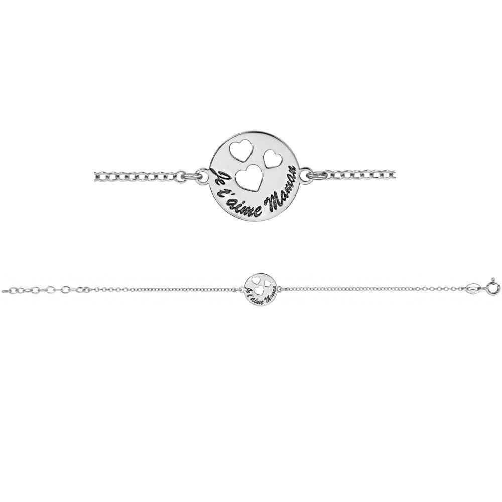bracelet argent maman
