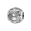 Charms Argent 925 Boule Zodiaque Cancer