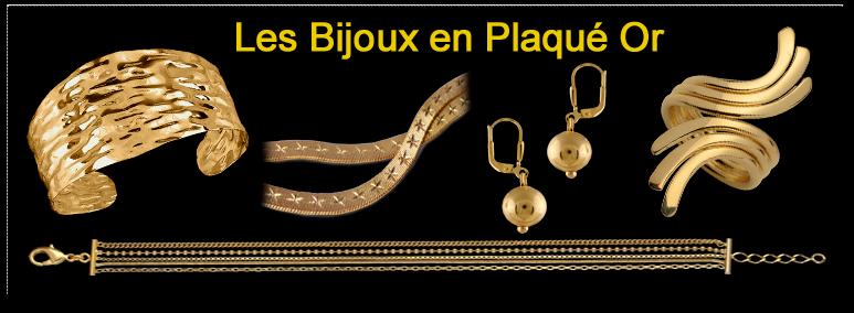 Bijoux Plaqué Or pas cher   bagues, bracelets, colliers, chaines... 78f0ee94f35