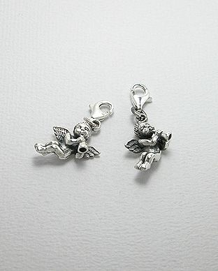 Charms Argent 925 Ange