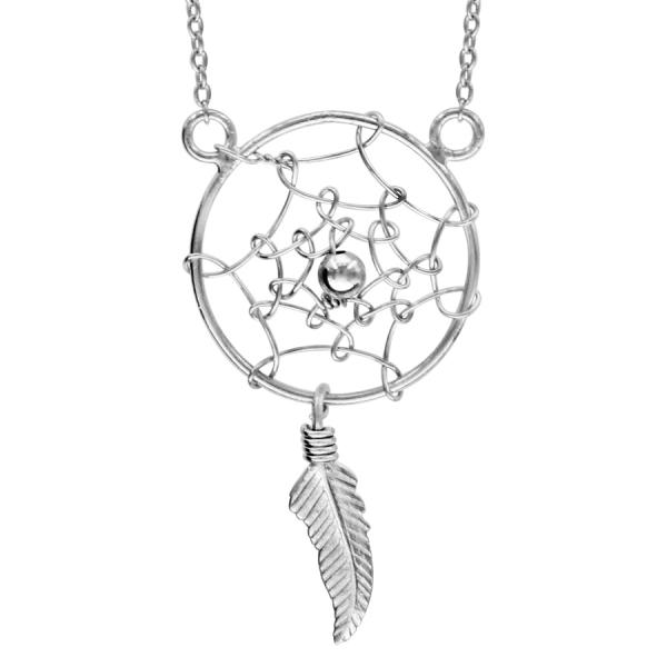Collier Argent 925 Attrape Rêves