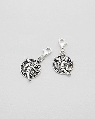 Charms Argent 925 Ange Cupidon