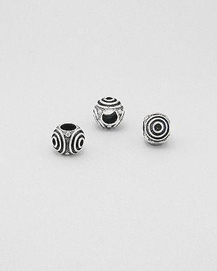 Perle Bead Argent 925 Spirale
