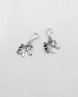 Charms Argent 925 Cheval