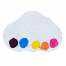 Boule de bain Bomb Cosmetics Watercolours Raining Rainbows