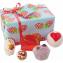 Coffret cadeau Bomb Cosmetics Strawberry Patch